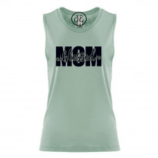 Blessed Mom Festival Muscle Tank